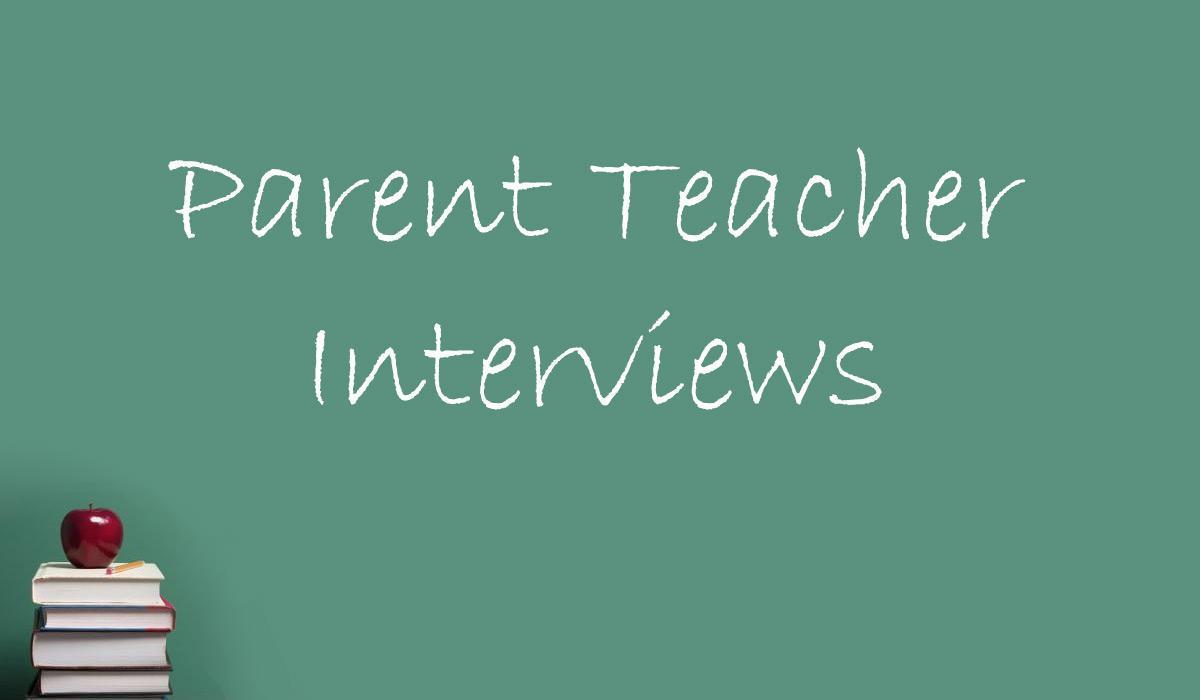 October Parent Teacher Interviews